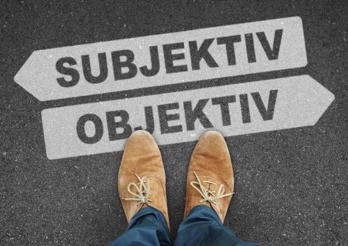 Subjektiv Objektiv